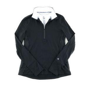 *A598  victoria's secret knockout half zip jacket